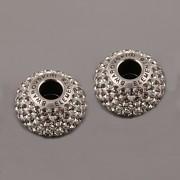 BeCharmed Pavé korálky Swarovski Elements 180101 – Black Diamond