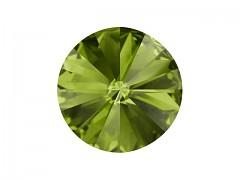 Swarovski Elements Rivoli 1122 – Olivine Foiled – 10mm