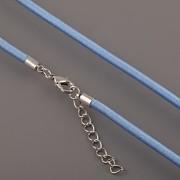 Obruč textilní - světle modrá