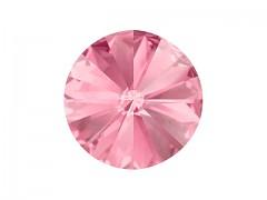 Swarovski Elements Rivoli 1122 – Light Rose Foiled – 12mm