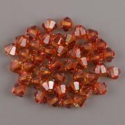 Swarovski Elements korálky XILION 5328 – Sluníčka – Copper - 4mm