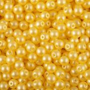 Nano Perličky - 50ks - 6mm - barva 1025002 - žluté
