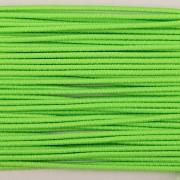 Gumička kulatá NEON zelená 1mm - textilní povrch