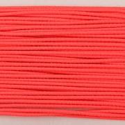 Gumička kulatá NEON růžová 1mm - textilní povrch