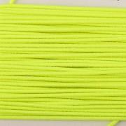 Gumička kulatá NEON žlutá 1mm - textilní povrch