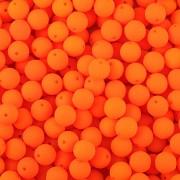 Kulička korálek NEON oranžová - 4mm