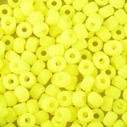 Korálky BAVORÁK neon žlutá 20ks