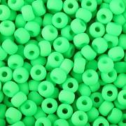 Korálky BAVORÁK neon zelená 20ks