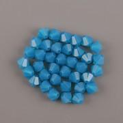 Swarovski Elements korálky XILION 5328 – Sluníčka – Caribbean Blue Opal - 4mm