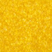 Dvoudírkový rokajl - SuperDuo® - 12,5g - barva 4625819 - žlutá