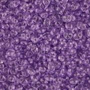 Dvoudírkový rokajl - SuperDuo® - 12,5g - barva 5925236 - tanzanite