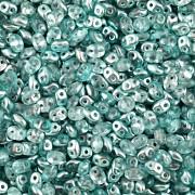 Dvoudírkový rokajl - SuperDuo® - 12,5g - pokov 7125352 - tyrkys