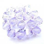 Swarovski Elements korálky XILION 5328 – Sluníčka – Violet – 4mm
