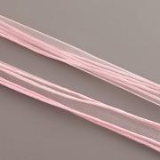 Obruč kombinovaná - světle růžová