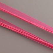 Obruč kombinovaná - tmavě růžová