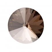 Swarovski Elements Rivoli 1122 – Crystal Satin Foiled - 12mm