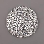 Crystal Rocks Swarovski Elements - Crystal CAL na průhledném podkladu - 25mm