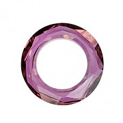 Swarovski Elements 4139 – Cosmic Ring – Lilac Shadow - 14mm