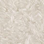 Korálky JAZÝČEK 11mm - 60ks - 1025001 bílé