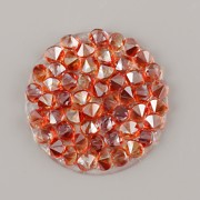Crystal Rocks Swarovski Elements - Red Magma - 15mm