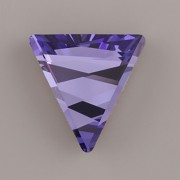 DELTA SWAROVSKI ELEMENTS 4717 - Tanzanite F - 21,5mm