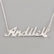 ANDÍLEK - jméno na řetízku - Ag925