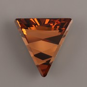 DELTA SWAROVSKI ELEMENTS 4717 - Light Smoked Topaz F - 15,5mm