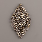 LIST Crystal Rocks Swarovski Elements - Metalic Light Gold