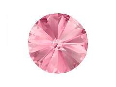 Swarovski Elements Rivoli 1122 – Light Rose Foiled – 6mm