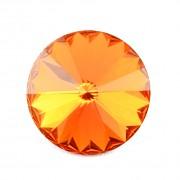 Swarovski Elements Rivoli 1122 – Tangerine Foiled - 12mm