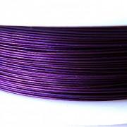 Nylonové lanko bižuterní - temně fialové