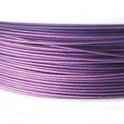 Nylonové lanko bižuterní - fialové