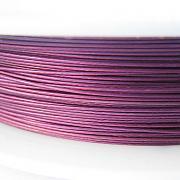 Nylonové lanko bižuterní - fialovorůžové