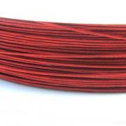 Nylonové lanko bižuterní - červené