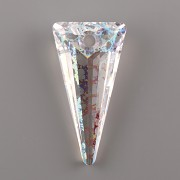 SPIKE Swarovski Elements 6480 - White Patina - 28mm