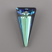 SPIKE Swarovski Elements 6480 - Bermuda Blue P - 28mm