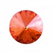Swarovski Elements Rivoli 1122 – Astral Pink Foiled – 8mm