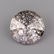 Swarovski Elements Rivoli 1122 – Crystal BLACK PATINA F - 10mm