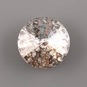 Swarovski Elements Rivoli 1122 – Crystal SILVER PATINA F - 8mm