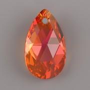 Swarovski Elements přívěsky 6106 – Hruška – Astral Pink - 22mm