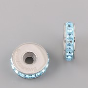 BeCharmed STOPPER Swarovski Elements Aquamarine