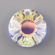 Sluníčkový přívěsek Swarovski Elements 6724 - Crystal AB 12mm
