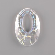 Swarovski Elements přívěsky 6040 – Helios – Crystal White Patina - 20mm