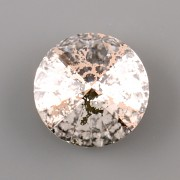 Swarovski Elements Rivoli 1122 – Crystal ROSE PATINA F - 10mm