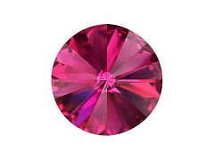 Swarovski Elements Rivoli 1122 – Fuchsia Foiled – 8mm