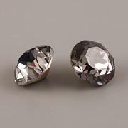 Swarovski Elements XIRIUS Chaton 1088 – Silver Night Foiled – 10mm