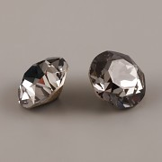 Swarovski Elements XIRIUS Chaton 1088 – Silver Night Foiled – 6mm
