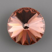 Swarovski Elements Rivoli 1122 – Blush Rose Foiled – 10mm