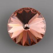 Swarovski Elements Rivoli 1122 – Blush Rose Foiled – 14mm
