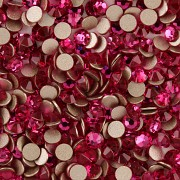 XILION Rose 2058 Swarovski Elements - Fuchsia - SS10